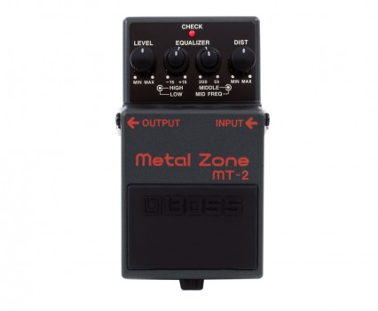 Boss MT-2 Metal Zone Distortion Guitar Pedal • Distortion Pedal HQ