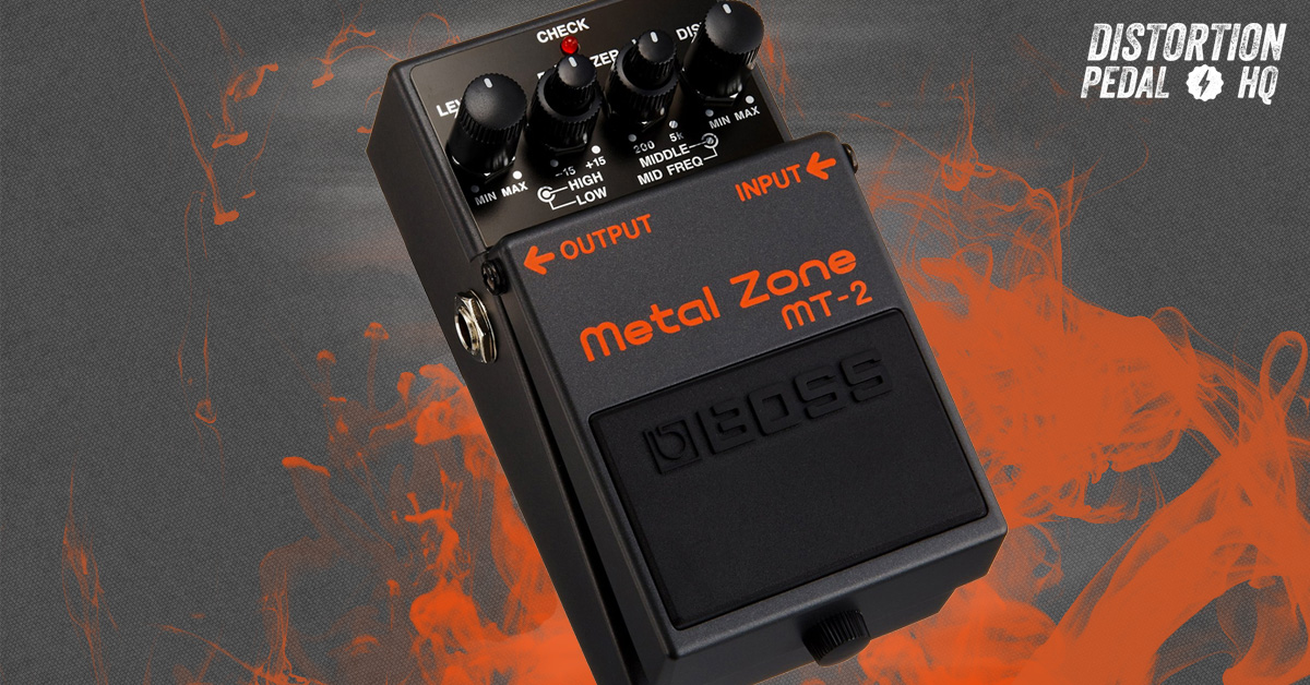 Boss Mt 2 Metal Zone Distortion Pedal Distortion Pedal Hq