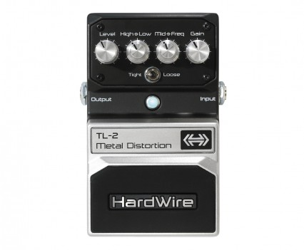 Digitech Hardwire TL-2 Distortion Pedal Review • Distortion Pedal HQ