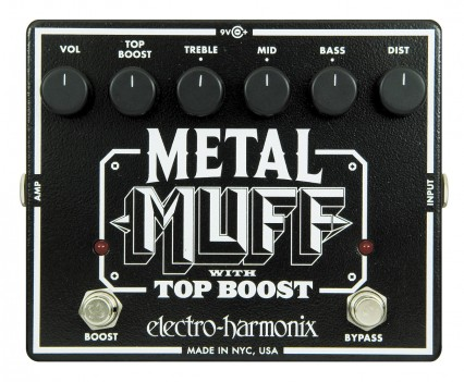 Electro Harmonix XO Metal-Muff Distortion Pedal • Distortion Pedal HQ
