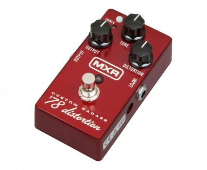 MXR M78 Custom Badass 78 Distortion Pedal • Distortion Pedal HQ