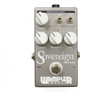 Wampler Sovereign Distortion Pedal • Distortion Pedal HQ