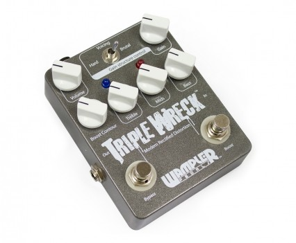 Wampler Triple Wreck Distortion Pedal • Distortion Pedal HQ