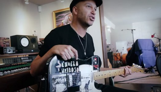 Check out Tom Morello's Guitars & Home Studio