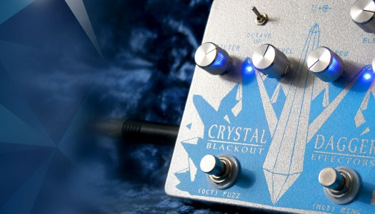 Blackout Effectors Crystal Dagger Pedal Review & Demo