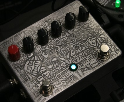 Winter Namm Show 2015: Animal Factory Amplification - Claustrophobia Fuzz