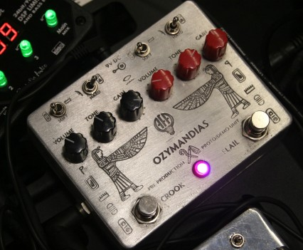Winter Namm Show 2015: Animal Factory Amplification - Ozymandias Overdrive
