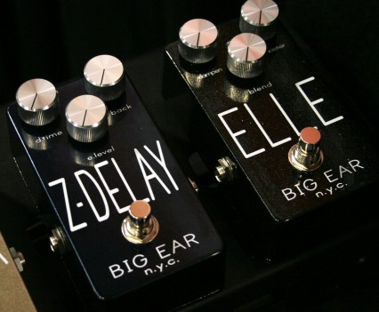 Winter Namm 2015: Big Ear NYC - Z-Delay & Elle-Reverb