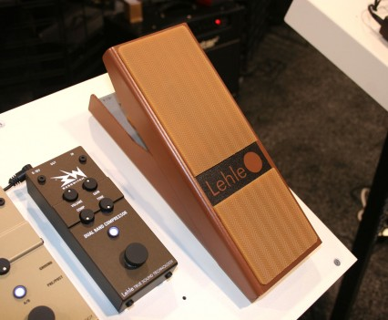 Winter Namm Show 2015: Lehle - Volume Pedal