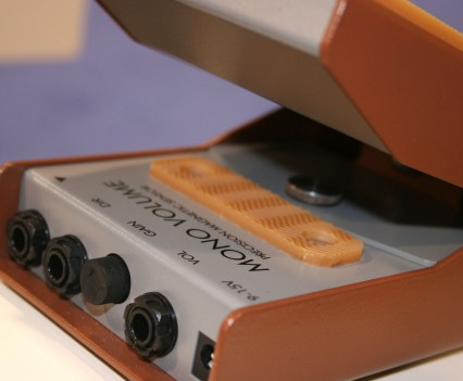 Winter Namm Show 2015: Lehle - Volume Pedal Closeup