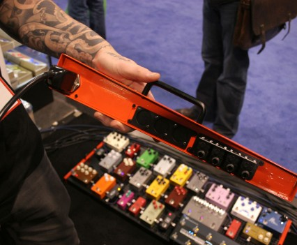 Winter Namm Show 2015: Temple Audio Pedalboards Inside