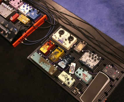 Winter Namm Show 2015: Temple Audio Pedalboards Setups