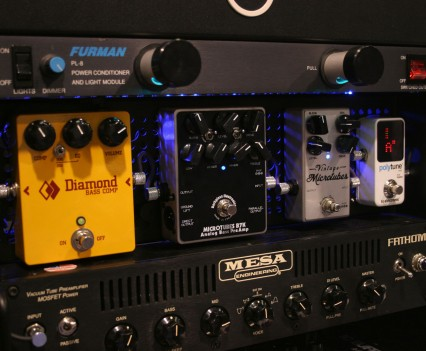 Winter Namm Show 2015: Temple Audio Pedalboards Studio Rack