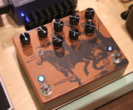 Winter Namm 2015: Walrus Audio - Vanguard Dual Phaser