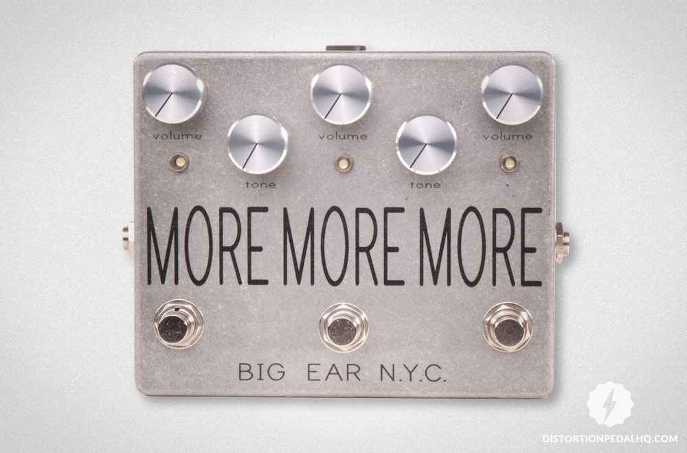Overdrive Pedals: Big Ear n.y.c. - More More More