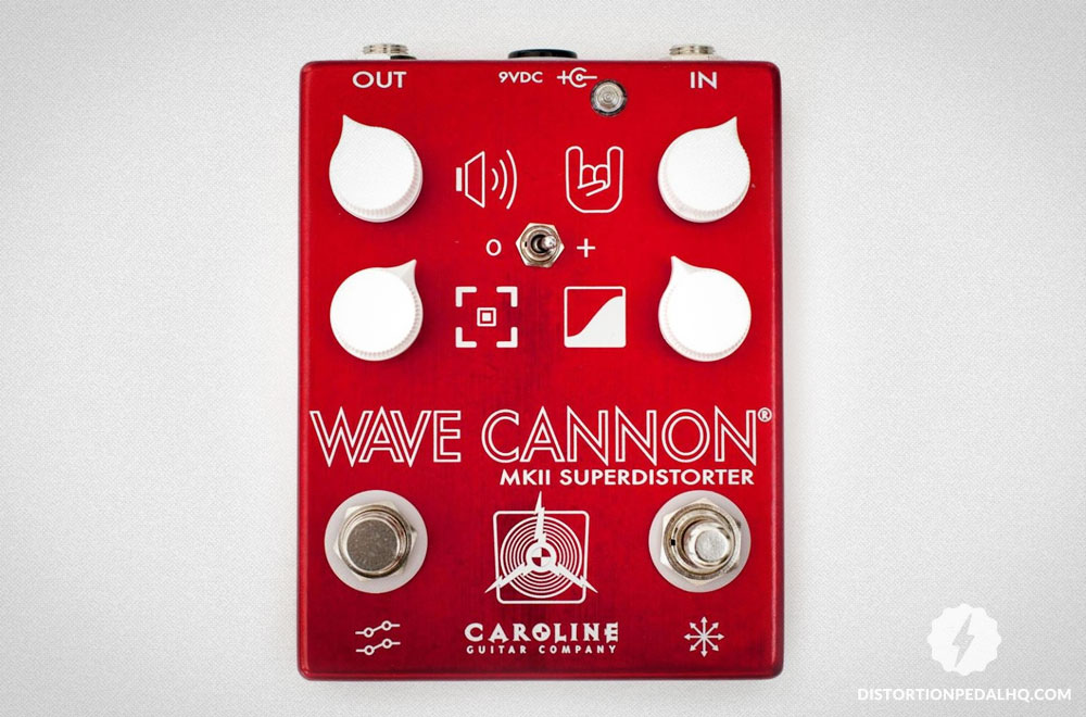 Overdrive Pedals: Caroline Guitar Wave Cannon MKII Overdrive