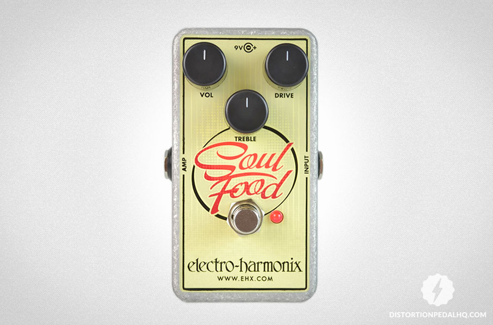 Overdrive Pedals: Electro Harmonix - Soul Food Overdrive