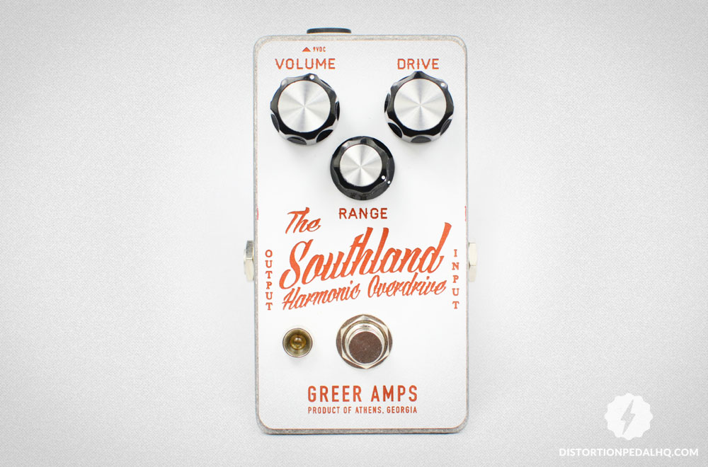 Overdrive Pedals: Greer Amps - The Southland Overdrive