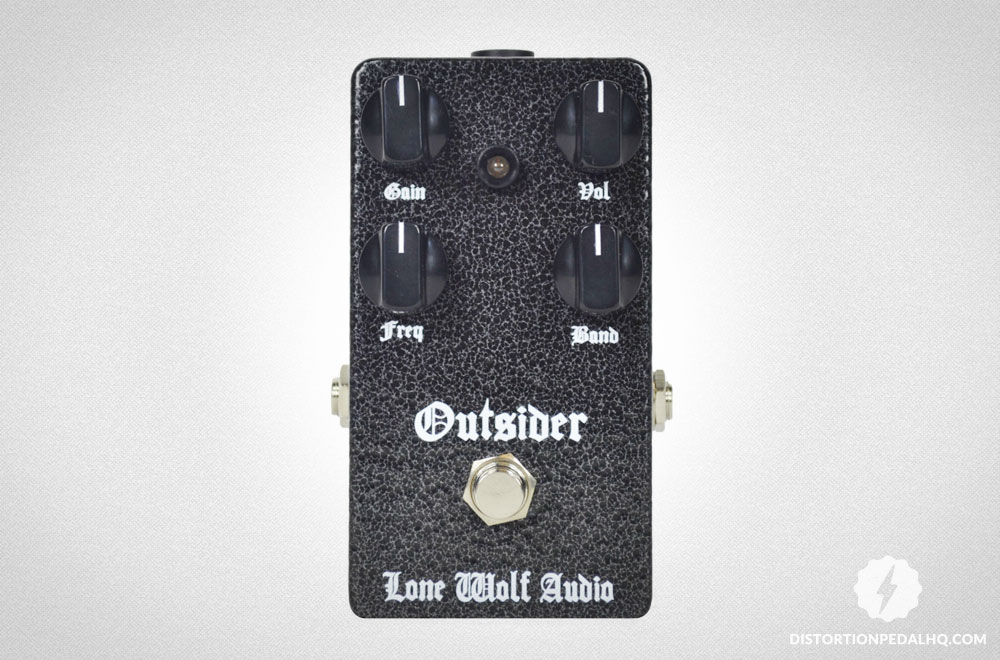 Overdrive Pedals: Lone Wolf Audio - Outsider Overdrive