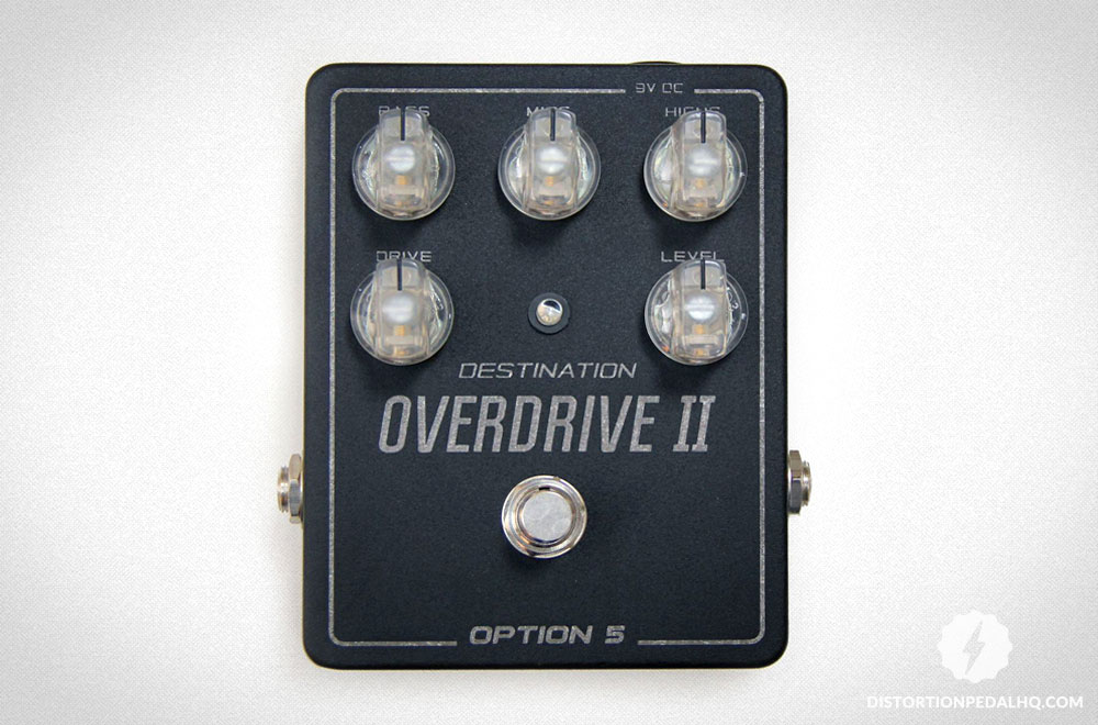 Overdrive Pedals: Option 5 - Destination Overdrive II
