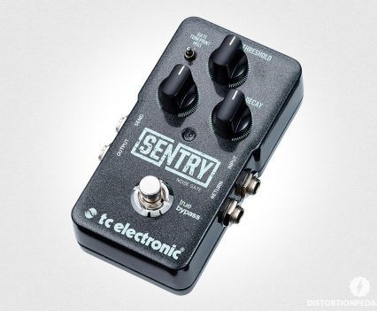 Best Guitar Noise Gate Pedal: TC Electronic Sentry